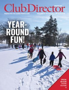 Club Director Winter 2019: Year-Round Fun!