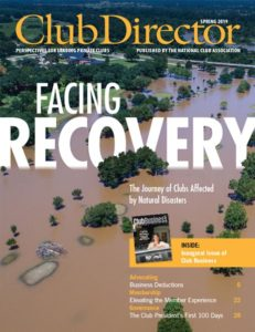 Club Director Spring 2019: Facing Recovery