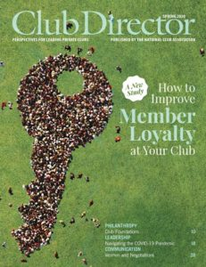 Club Director Cover: Member Loyalty