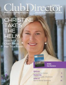 Christine Pooler Club Director Cover