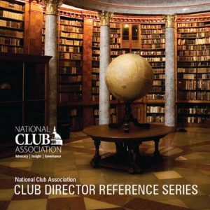 Club Director Reference Series