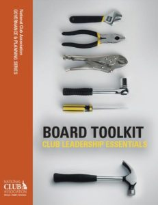 National Club: Board Toolkit: Club Leadership Essentials